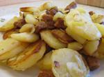 Bratkartoffeln mit veganem Speck