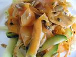 Zucchini - Möhren - Spaghettisalat