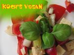 veganer griechischer Salat