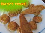 vegane Möhren im Teigmantel
