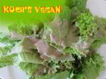 veganes Salatdressing