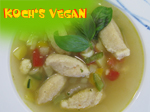 vegane Griesnockerlsuppe