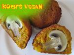 vegane Kürbisbällchen