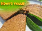 veganes seitan und tofusteak