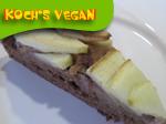 veganer Apfelkuchen ohne Fett ohne Zucker